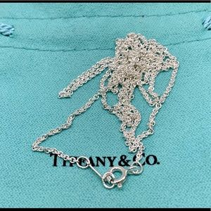 """NWOT Tiffany & Co Sterling Silver Chain 24"""""""